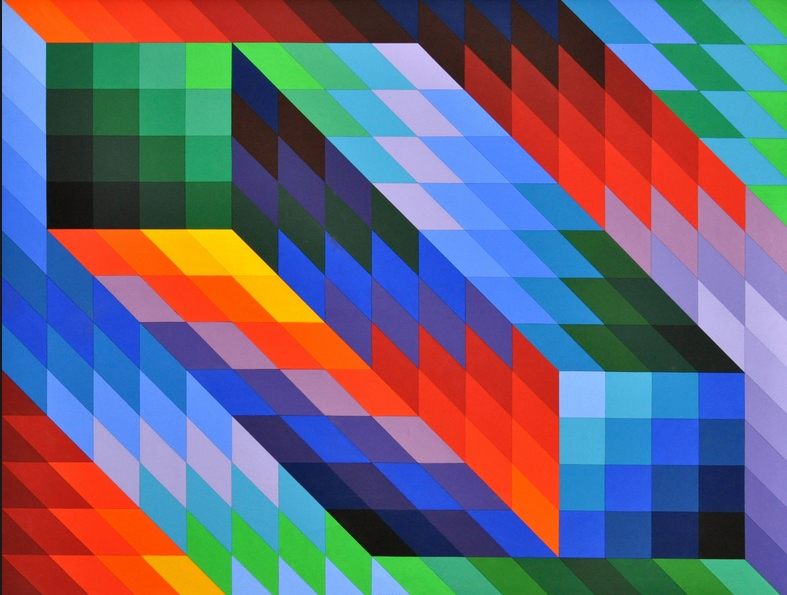 victor vasarely  u2013 art musically formalized